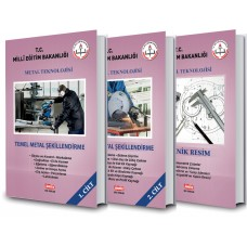 Metal Teknolojileri Alanı Renkli 10. Sınıf Set