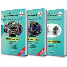 Motorlu Araçlar Teknolojisi Renkli 10.Sınıf Set